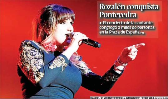 ROZALÉN CONQUISTA PONTEVEDRA