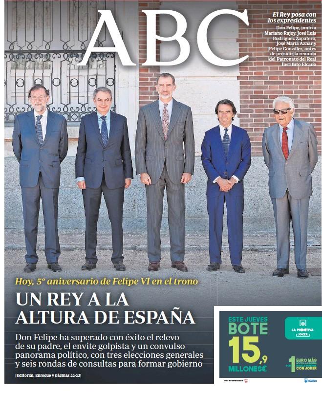 UN REY A LA ALTURA DE ESPAÑA