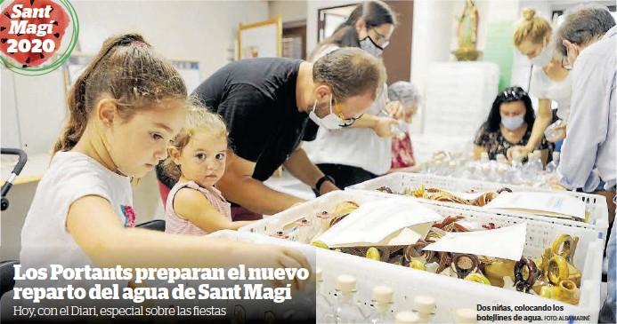 LOS PORTANTS PREPARAN EL NUEVO REPARTO DEL AGUA DE SANT MAGÍ