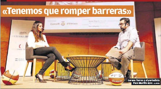 LORENA TORRES RELATA SU EXPERIENCIA EN LA NBA Y SU FICHAJE POR LA FEDERACIÓN ESPAÑOLA DE BALONCESTO