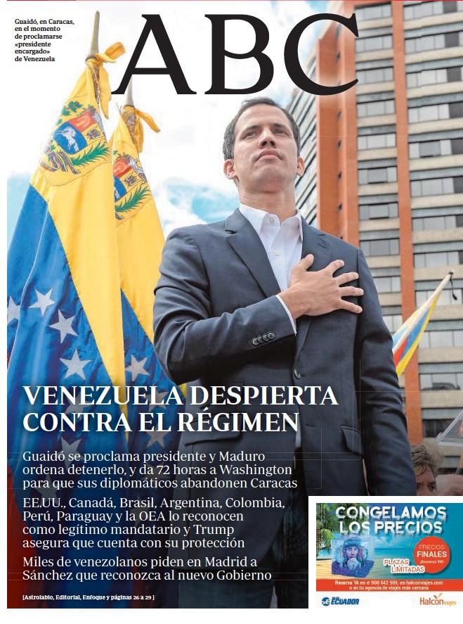 VENEZUELA DESPIERTA CONTRA EL RÉGIMEN