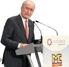 DE LA TORRE DA POR LIQUIDADO EL EJE ENTRE MÁLAGA Y SEVILLA