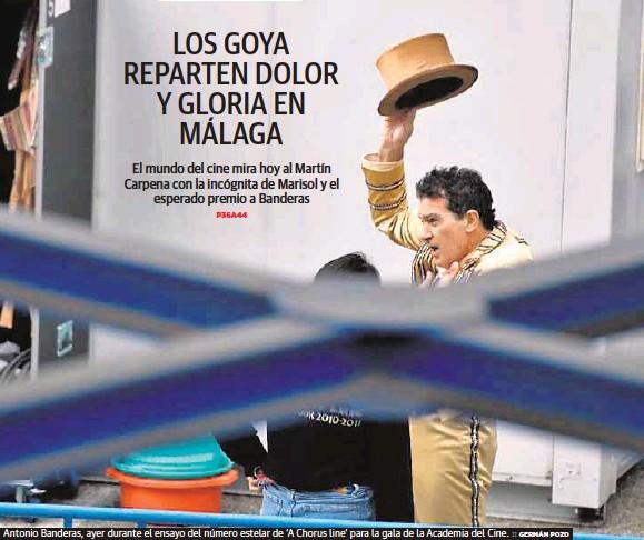 LOS GOYA REPARTEN DOLOR Y GLORIA EN MÁLAGA