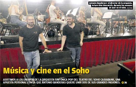 MÚSICA Y CINE EN EL SOHO