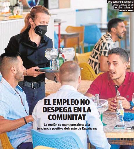 EL EMPLEO NO DESPEGA EN LA COMUNITAT