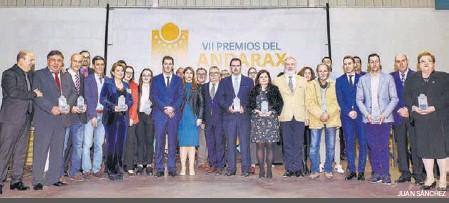BRILLANTE GALA DE LOS VII PREMIOS DEL ANDARAX
