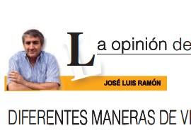 DIFERENTES MANERAS DE VER LO MISMO