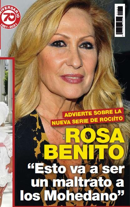 """ROSA BENITO """"ESTO VA A SER UN MALTRATO A LOS MOHEDANO"""""""