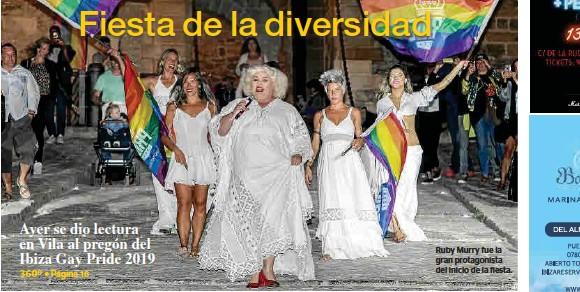 FIESTA DE LA DIVERSIDAD