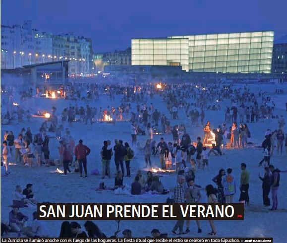 SAN JUAN PRENDE EL VERANO