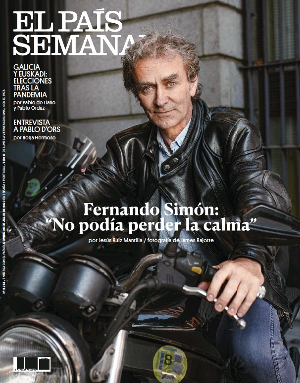 "FERNANDO SIMÓN: ""NO PODÍA PERDER LA CALMA"""