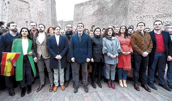 BATALLA DE CIFRAS POR LA MASIVA MANIFESTACIÓN EN MADRID CONTRA SÁNCHEZ