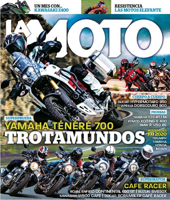 YAMAHA TÉNÉRÉ 700 TROTAMUNDOS