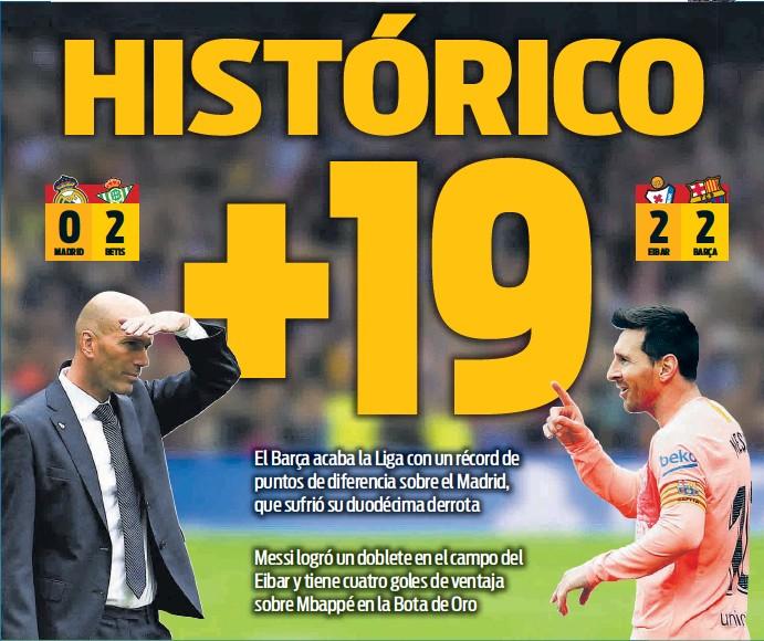 HISTÓRICO +19