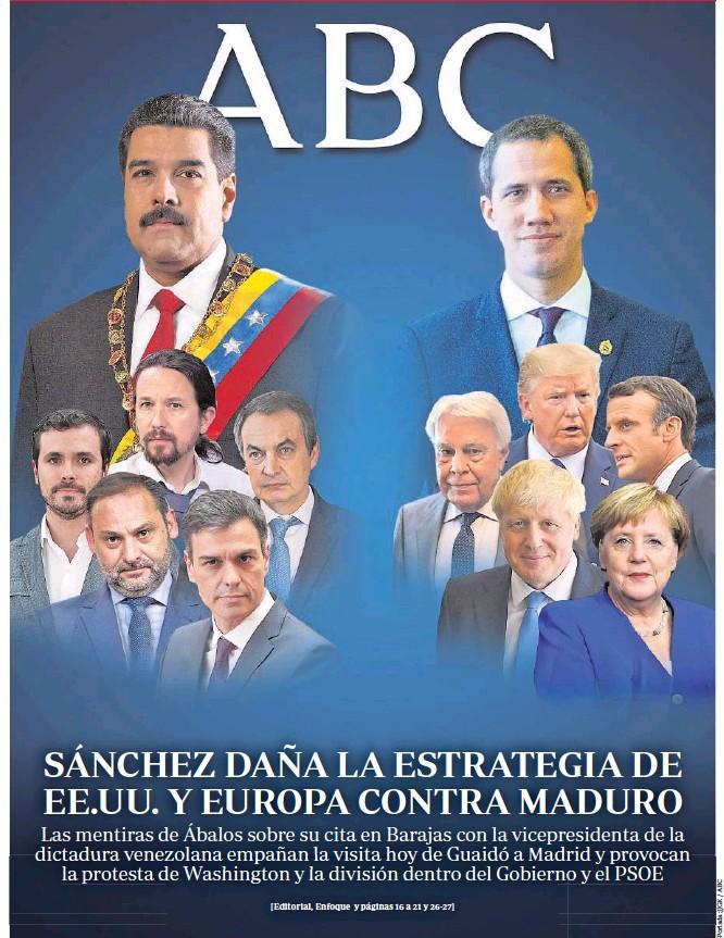 SÁNCHEZ DAÑA LA ESTRATEGIA DE EE.UU. Y EUROPA CONTRA MADURO