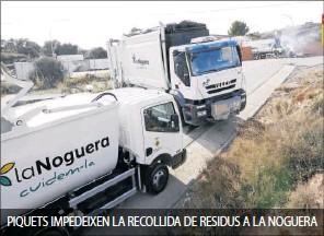 EL GOVERN APUJA FINS UN 75% EL CÀNON D'ESCOMBRARIES PER CASTIGAR LA FALTA DE RECICLATGE