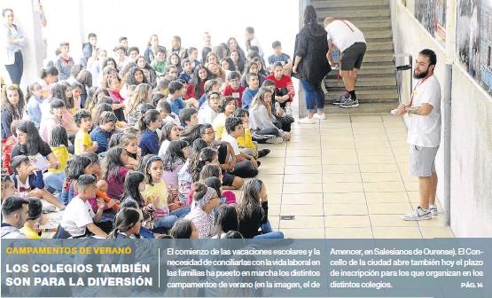 LOS COLEGIOS TAMBIÉN SON PARA LA DIVERSIÓN