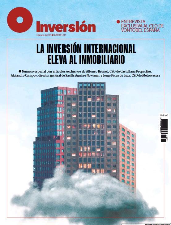 LA INVERSIÓN INTERNACIONAL ELEVA AL INMOBILIARIO