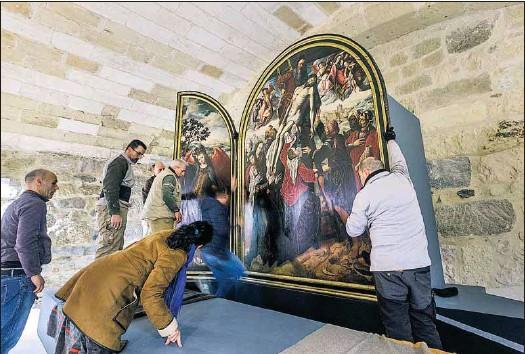 EL MUSEO BAJO CLAUSTRO DE LA CATEDRAL ULTIMA SU APERTURA.