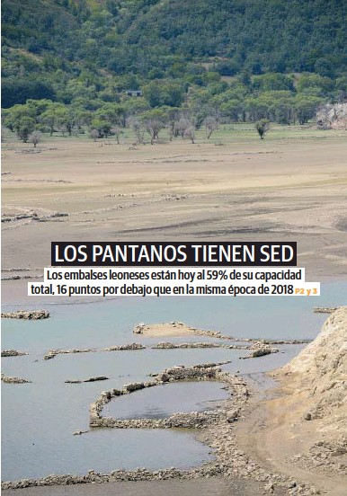 LOS PANTANOS TIENEN SED