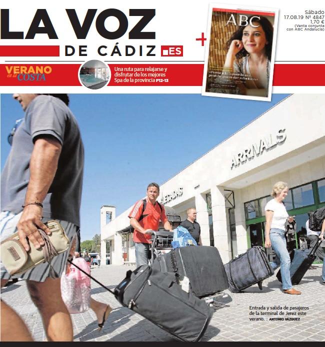 EL AEROPUERTO DE JEREZ VUELA HACIA EL MILLÓN DE PASAJEROS