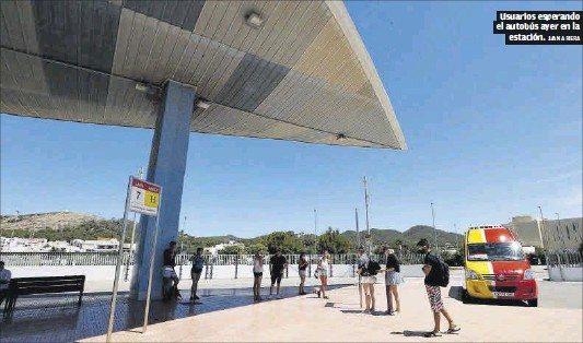 OXÍGENO DEL CONSELL PARA LA ESTACIÓN DE AUTOBUSES DE SANT ANTONI