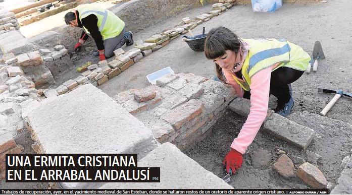 UNA ERMITA CRISTIANA EN EL ARRABAL ANDALUSÍ