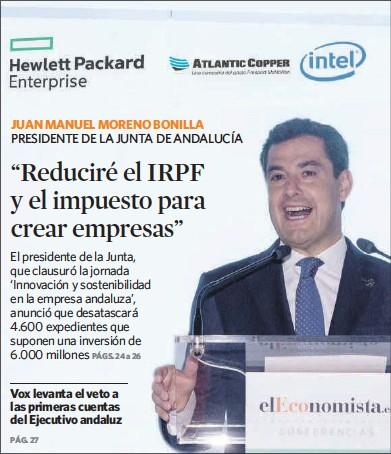 """""""REDUCIRÉ EL IRPF Y EL IMPUESTO PARA CREAR EMPRESAS"""""""