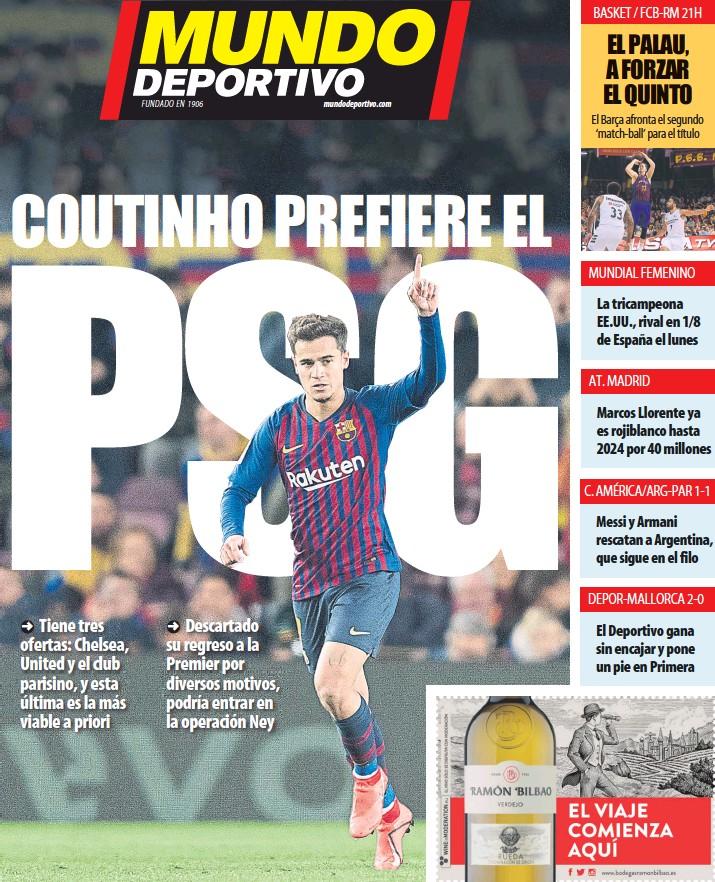 COUNTING PREFIERE EL PSG