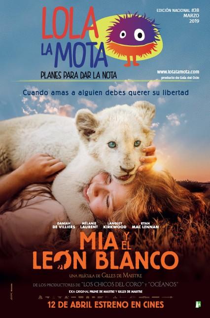 MIA Y EL LEON BLANCO