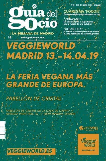 VEGGIEWORLD MADRID 13.-14.04.19