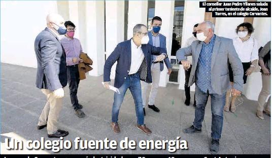 LA ESCUELA CERVANTES GENERARÁ ELECTRICIDAD PARA 70 CASAS Y 10 PYMES EN SANT ANTONI