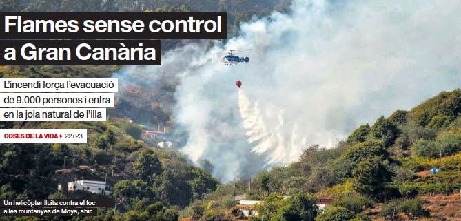 FLAMES SENSE CONTROL A GRAN CANÀRIA