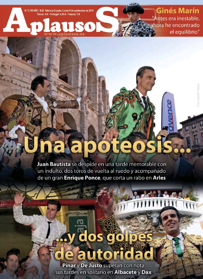 UNA APOTEOSIS... ...Y DOS GOLPES DE AUTORIDAD