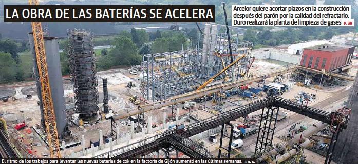 LA OBRA DE LAS BATERÍAS SE ACELERA