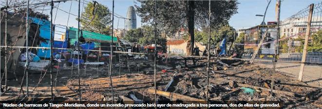 LA VIOLENCIA PRENDE EN LA BARCELONA DE LA MISERIA