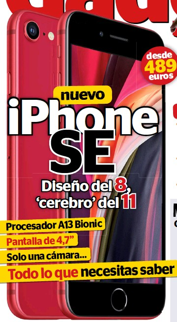 IPHONE SE DISEÑO DEL 8, 'CEREBRO' DEL 11