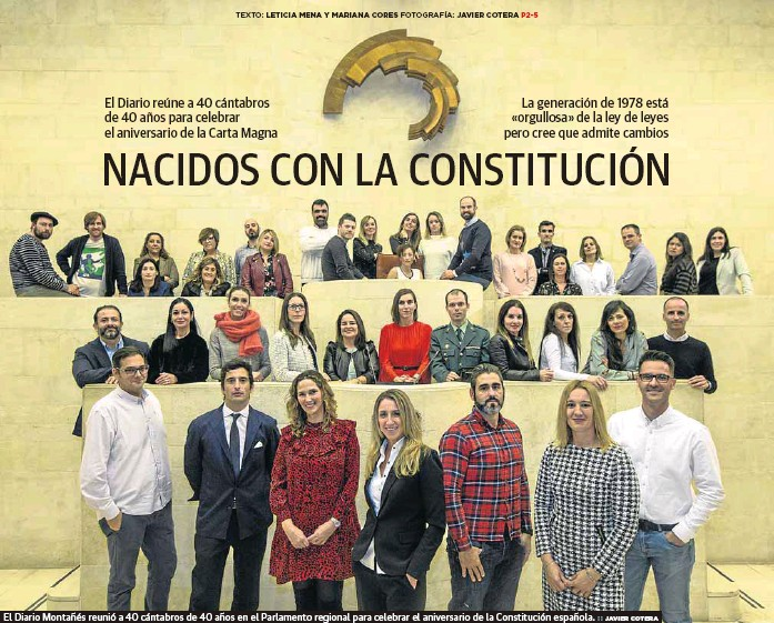NACIDOS CON LA CONSTITUCIÓN