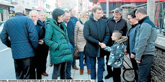 FEIJÓO: «VOTAR A VOX BENEFICIA O PSOE»