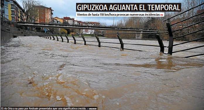 GIPUZKOA AGUANTA EL TEMPORAL