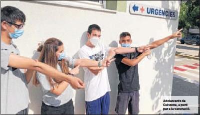 SALUT OBRE AVUI LA VACUNACIÓ PER ALS 18.000 ADOLESCENTS D'ENTRE 13 I 15 ANYS DE LLEIDA