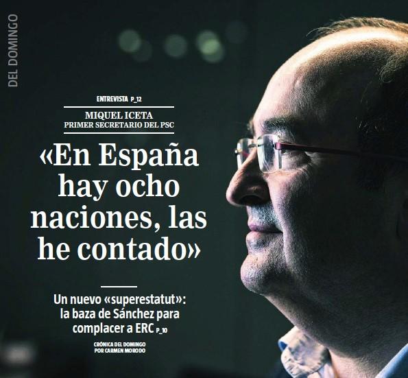 «EN ESPAÑA HAY OCHO NACIONES, LAS HE CONTADO»