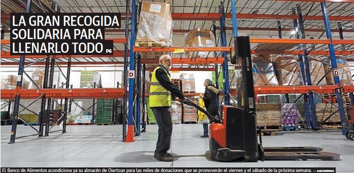 LA GRAN RECOGIDA SOLIDARIA PARA LLENARLO TODO