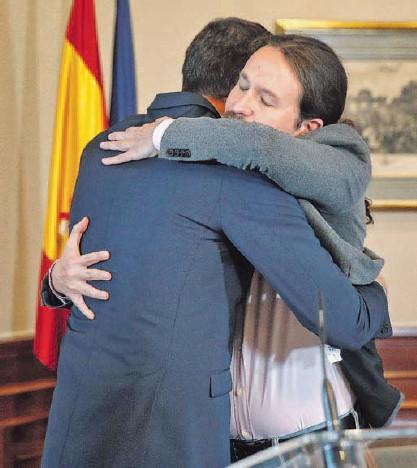 PSOE Y UP NECESITARÁN EL APOYO EN EL CONGRESO DE AL MENOS MEDIA DOCENA DE PARTIDOS