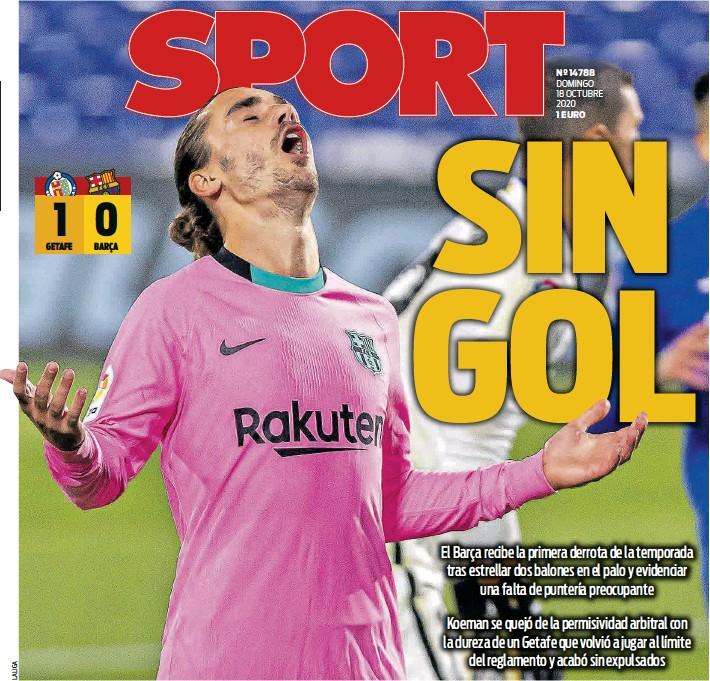 SIN GOL