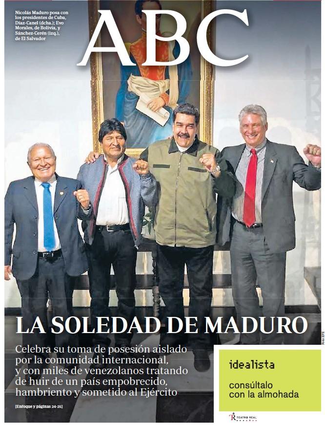LA SOLEDAD DE MADURO