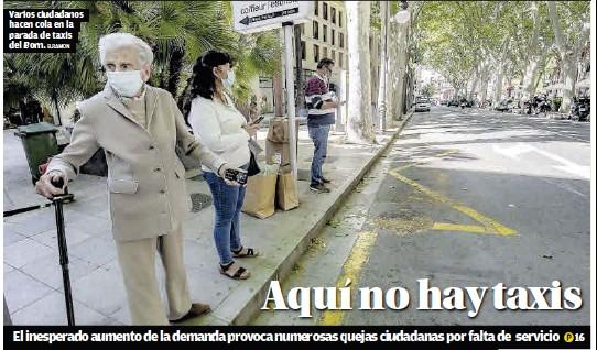 AQUÍ NO HAY TAXIS