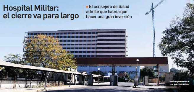 HOSPITAL MILITAR: EL CIERRE VA PARA LARGO