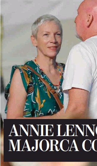 ANNIE LENNOX AT MAJORCA CONCERT