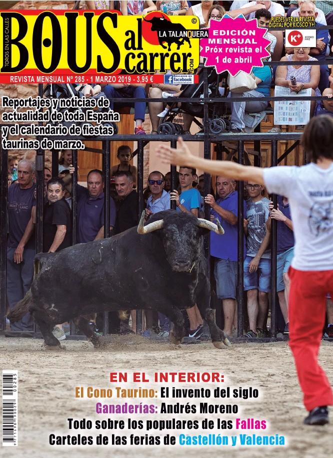 REPORTAJES Y NOTICIAS DE ACTUALIDAD DE TODA ESPANA Y EL CALENDARIO DE FIESTAS TAURINAS DE MARZO